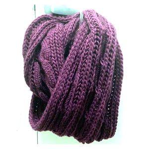 Bella Purple scarf